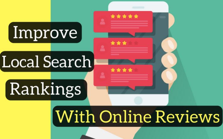 Local Search Ranking with Online Reviews